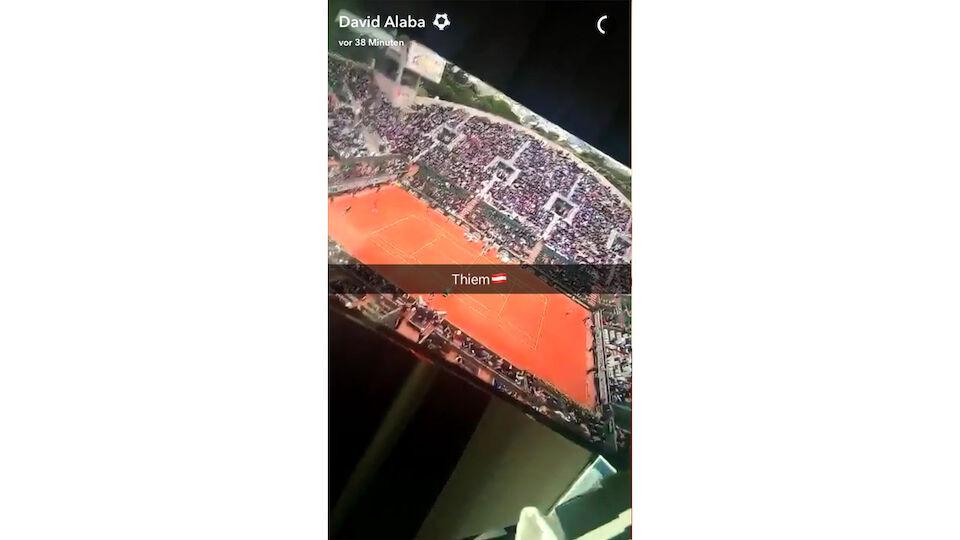 Snapchat-King David Alaba: Die besten Bilder