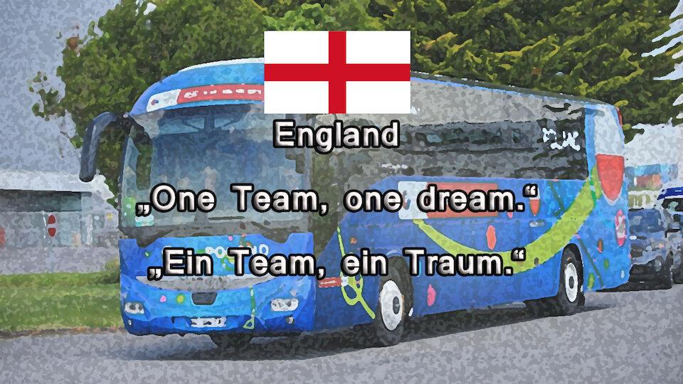 Das sind die Slogans der Teams bei der EURO 2016