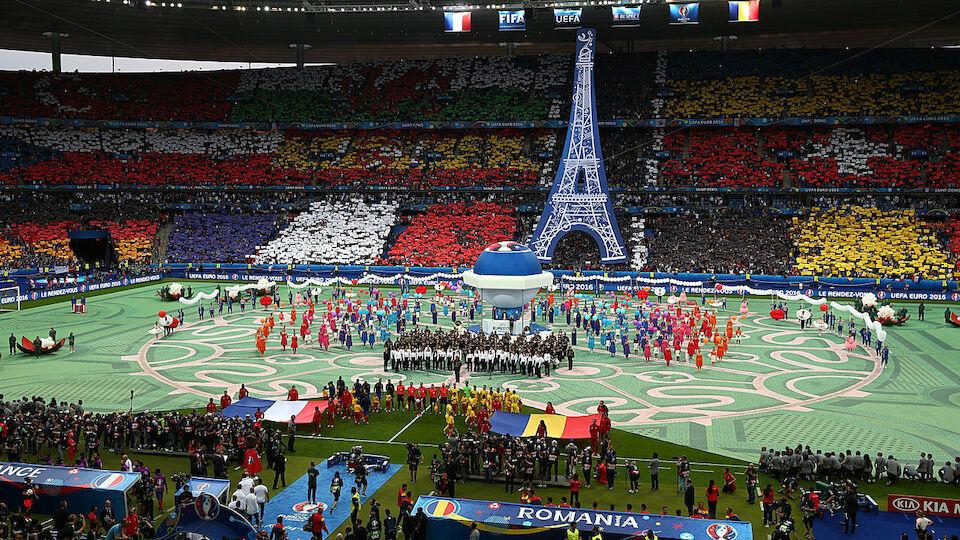 EURO Eröffnung Diashow