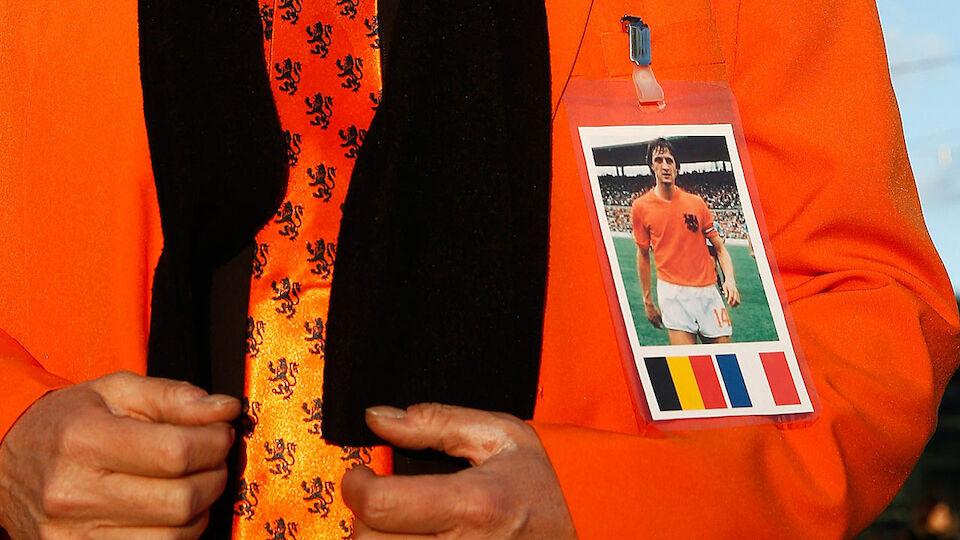 Gedenkminute für Cruyff bei Holland-Frankreich