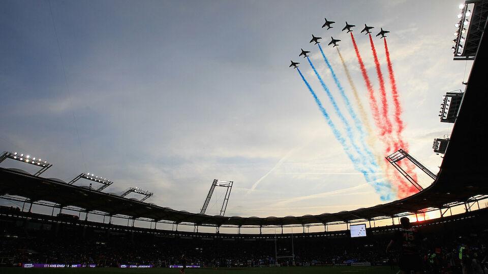 Diashow: Die Stadien der EURO 2016
