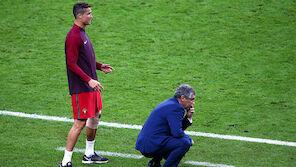 Das sagte Ronaldo in der Kabine