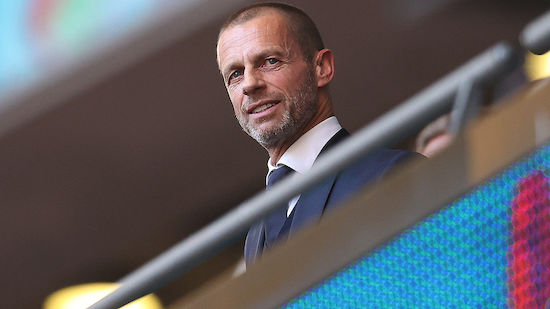 UEFA-Boss Ceferin strebt 2023 Wiederwahl an