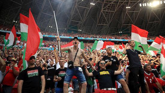 Ungarn-Strafe für diskriminierendes Fan-Verhalten