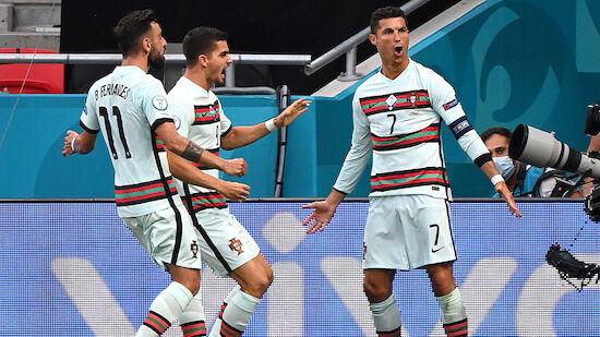 Ronaldo-Rekord bei portugiesischem Auftaktsieg