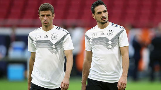 EURO: Hummels und Müller stehen im DFB-Kader