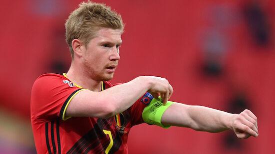 Belgien-Auftakt ohne Kapitän Kevin De Bruyne