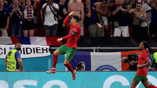 Cristiano Ronaldo mit Weltrekordtor
