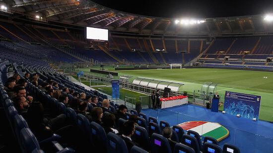 Rom als EURO-Austragungsort bestätigt