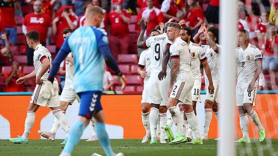 Belgien dreht emotionale Partie gegen Dänemark