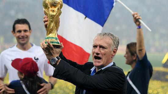 Frankreich: Deschamps kann Geschichte schreiben