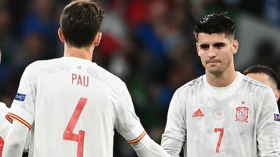 EM-Aus für Spanien! Morata als tragische Figur