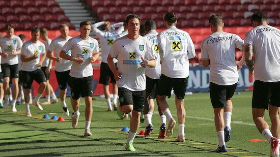 ÖFB-Kader für EURO 2020 mit Rückennummern