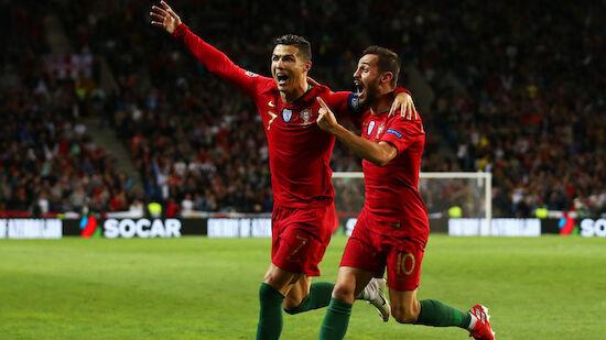 Portugal siegt, England verliert gegen Tschechien