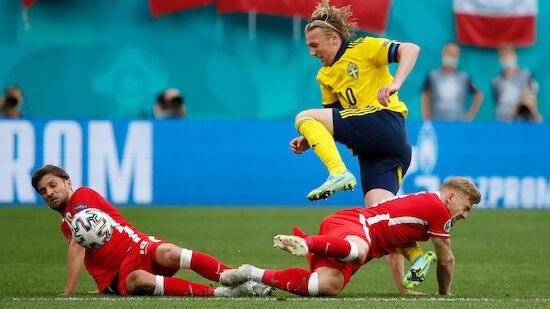 Schweden schießt Polen aus EURO 2020