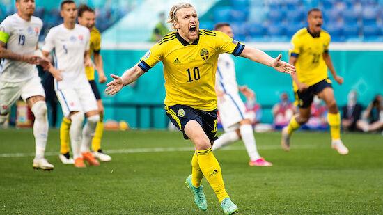 Schweden öffnet gegen Slowakei Tür zur K.o.-Phase