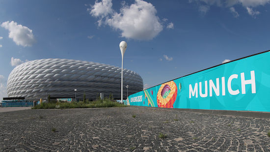 Brand in München vor Deutschland - Frankreich