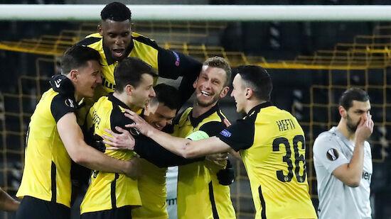 Leverkusen-Aufholjagd gegen Young Boys unbelohnt