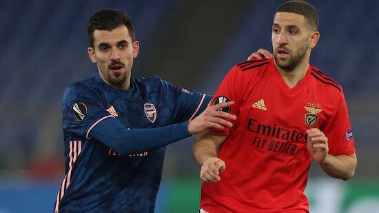 Arsenal wahrt Achtelfinal-Chance gegen Benfica