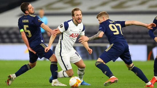 Kane-Doppelpack sichert Spurs Hinspiel-Erfolg
