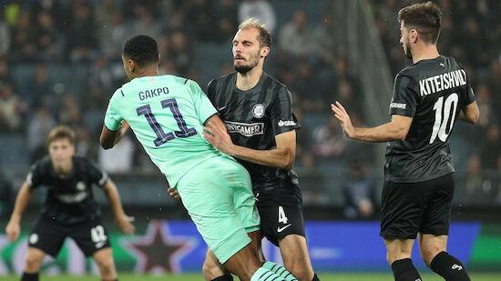 Sturm verliert in EL auch gegen PSV