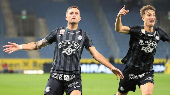 Sturm Graz stürmt in die Europa League