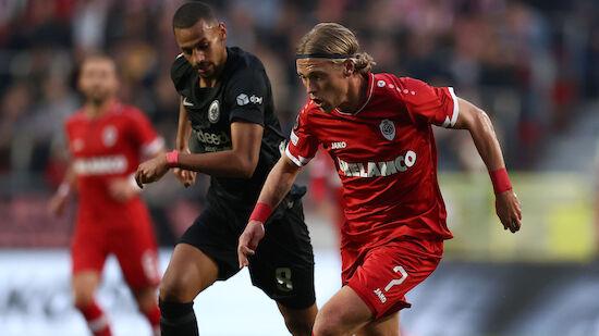 Last-Minute-Sieg für Glasners Eintracht Frankfurt
