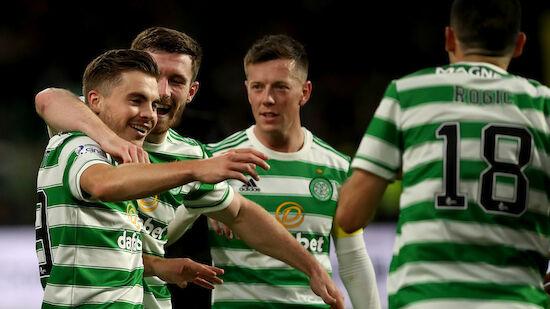 Celtic mit einem Bein in der Europa League