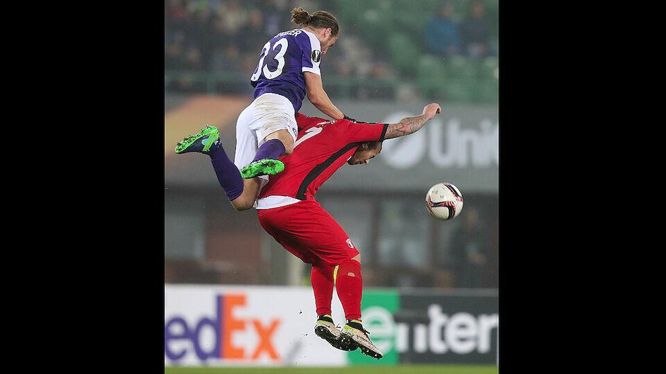 Die besten Bilder der 5. Runde der Europa League