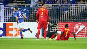 Salzburg auf Schalke ohne Chance