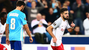 Salzburg ringt Marseille nieder
