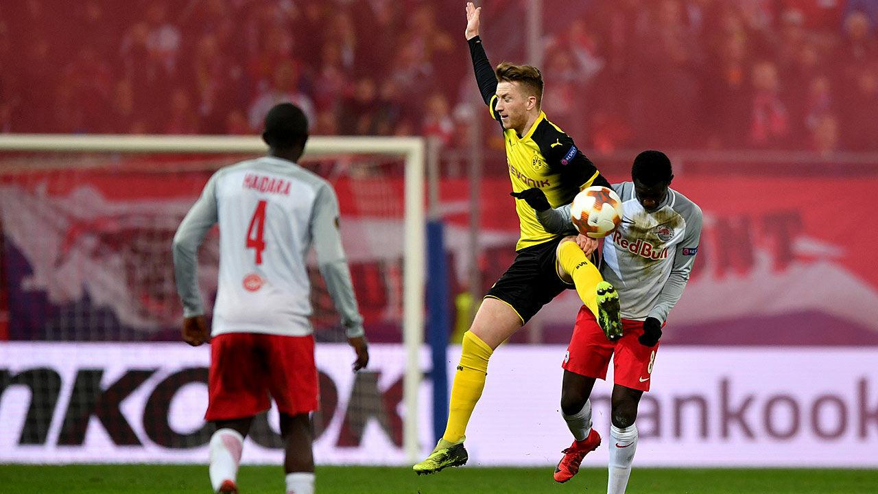 Viertelfinale Rb Salzburg Eliminiert Borussia Dortmund Laola1at