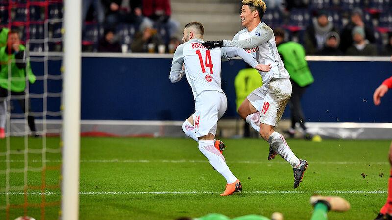 Salzburg schaltet Real Sociedad aus