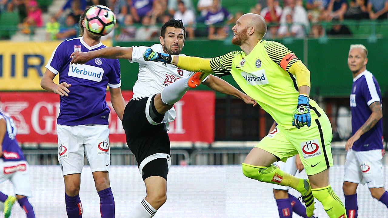 4ac1b94cb3 Austria verliert Heimspiel gegen Spartak Trnava - LAOLA1.at