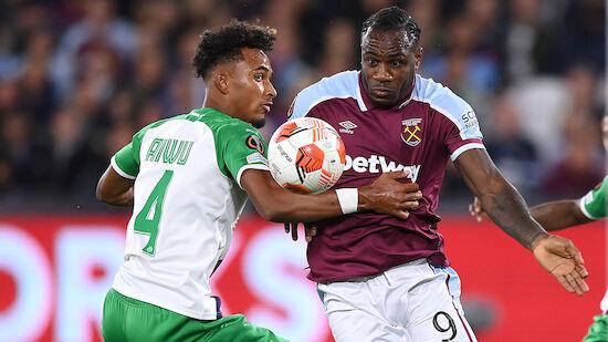 SK Rapid unterliegt West Ham knapp
