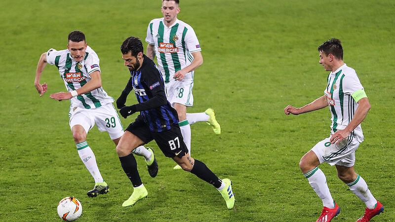 Rapids schmaler Grat zum Wunder bei Inter Mailand