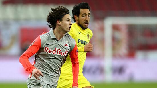 Salzburg verpatzt Hinspiel gegen Villarreal
