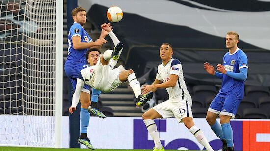 EL-Aus! WAC verliert erneut gegen Tottenham