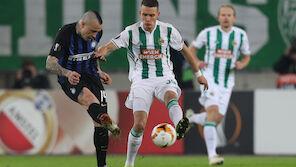 Bittere Rapid-Pleite gegen Inter