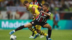 Last-Minute Ausgleich von Frankfurt gegen Dortmund