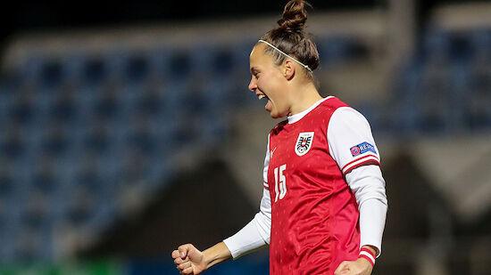 ÖFB-Damen glückt WM-Quali-Auftakt in Lettland