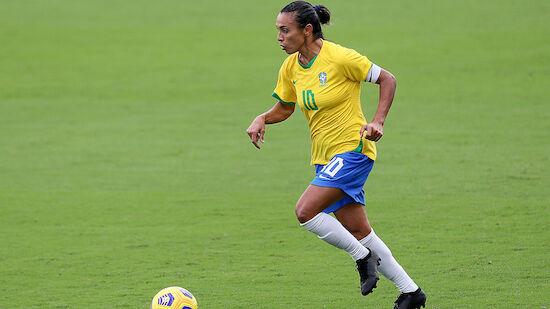 Belästigung: Brasilien um Marta setzt ein Zeichen