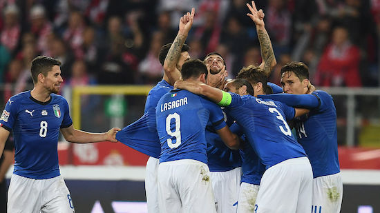 Italien rettet sich, Polen muss absteigen