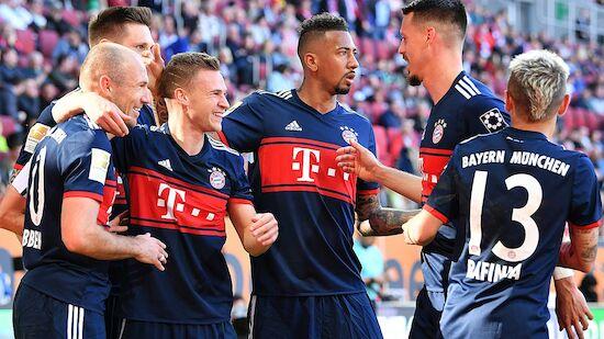 FC Bayern zum 28. Mal deutscher Meister
