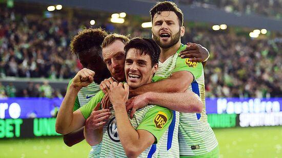 Wolfsburg legt in Relegation gegen Kiel vor