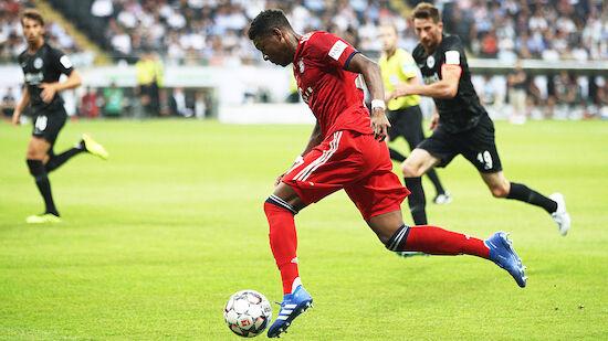 Bundesliga-Einsatz von David Alaba ist möglich