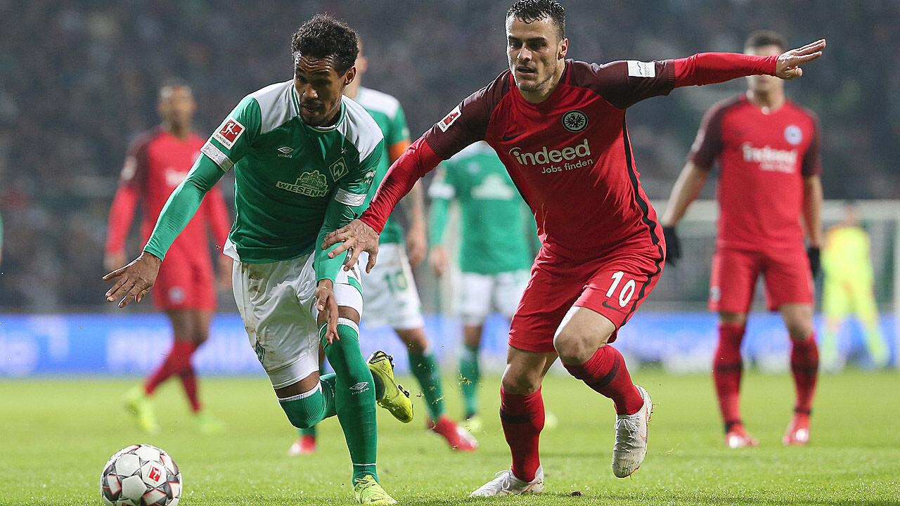 Frankfurt Bremen Fussball