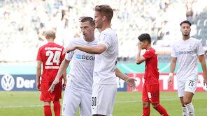 DFB-Pokal: Lainer-Assist bei Gladbach-Schützenfest