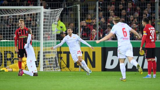 Union Berlin wirft SC Freiburg aus DFB-Pokal