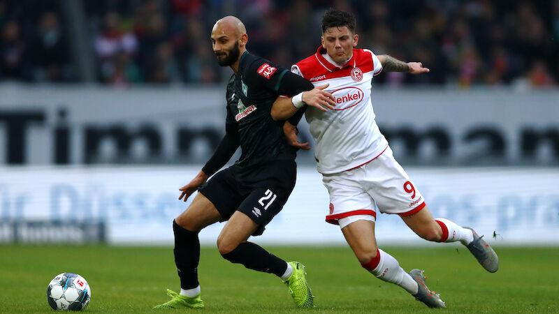 Bremen erzwingt Sieg in Düsseldorf